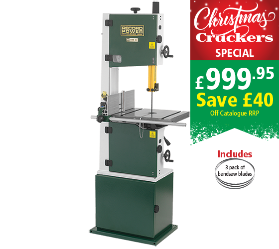 "Record Power SABRE-350 14"" Bandsaw"