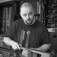 Ben Crowe of Crimson Custom Guitars