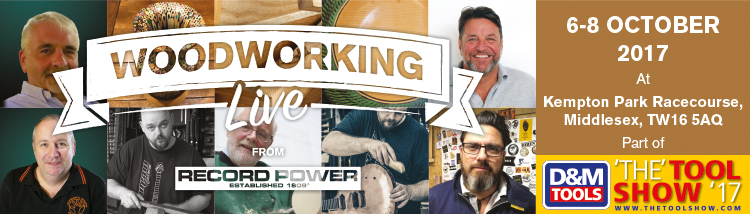 Woodworking Live 2017 from Record Power