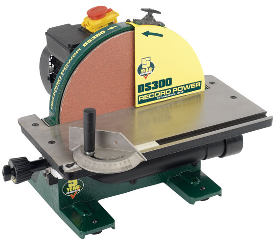 "DS300 12"" Cast Iron Disc Sander"