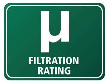 0.5 Micron Filtration