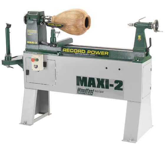 MAXI-2 Heavy Cast Iron Variable Speed Lathe with Outboard Facility