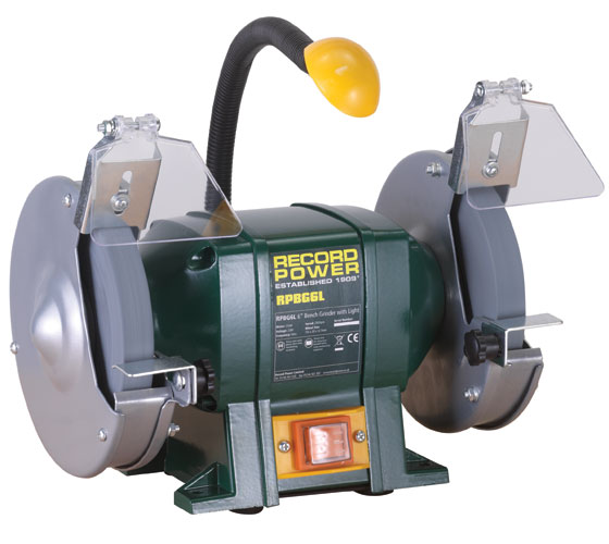 Support For 6 Quot Bench Grinder With Light
