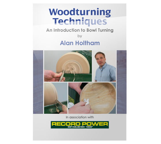 RPDVD08 Woodturning Techniques DVD-Introduction to Bowl Turning with Alan Holtham
