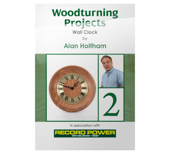 RPDVD09 Woodturning Projects DVD-Wall Clock with Alan Holtham