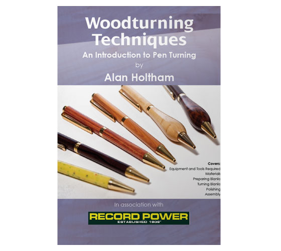 RPDVD10 Woodturning Techniques DVD - Introduction to Pen Turning with Alan Holtham