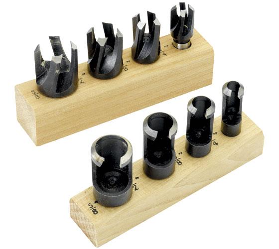 RPPCS8 8 Piece Plug Cutter Set