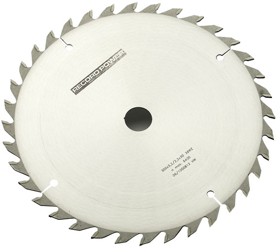 RPSB25032 250 mm x 30 mm Bore (Z=32 Teeth) TCT Saw Blade