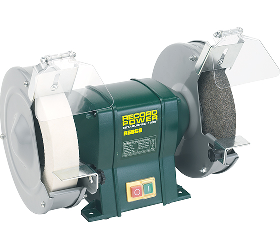 Rsbg8 8 Quot Bench Grinder With 40mm Whitestone