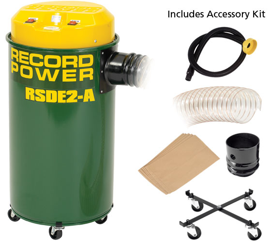 RSDE/2A Fine Filter 50 Litre Extractor with Auto Switching - HPLV