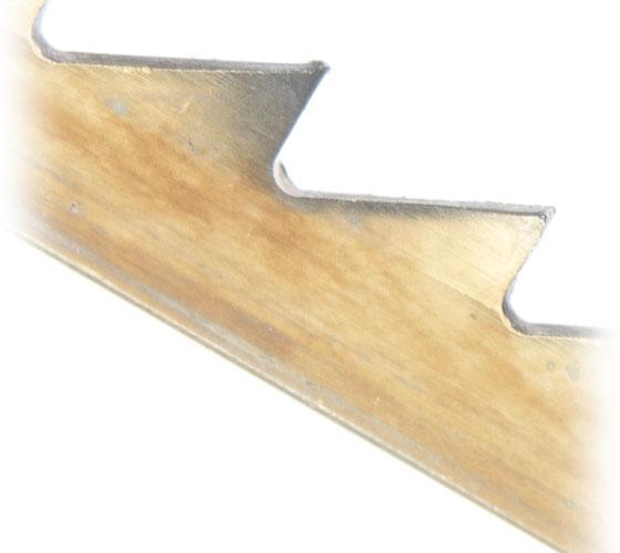 SSB-PINR3015 Pack of 12 Regular Tooth Pin End HSS 15 TPI Scroll Saw Blades