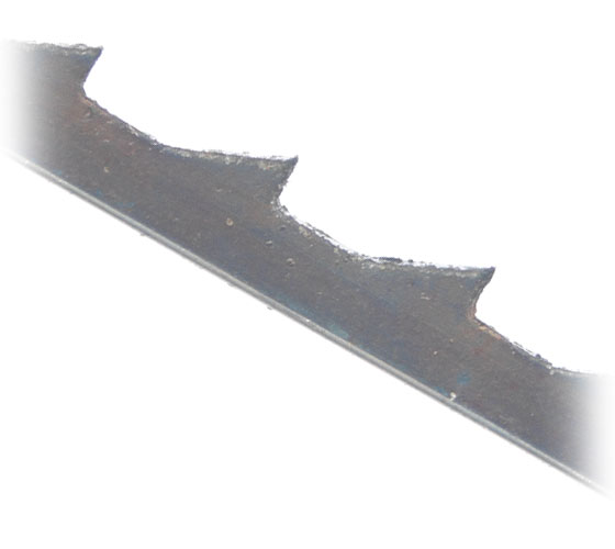 SSB-PINS3009 Pack of 12 Skip Tooth Pin End HSS 9 TPI Scroll Saw Blades