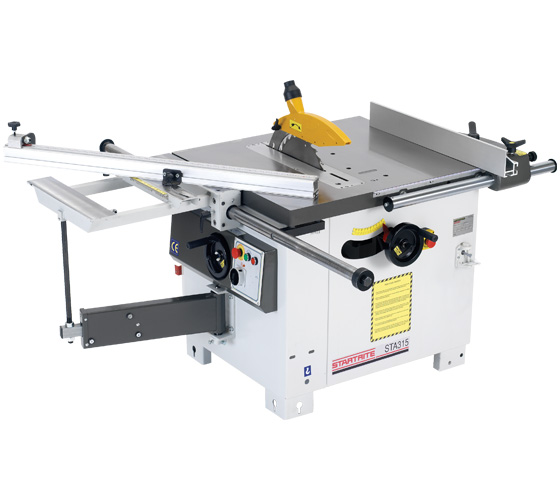Sta315 Uk1 Heavy Cast 315mm Table Saw With Sliding Table 1 Phase