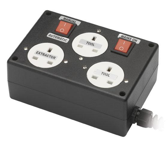Wve002 Automatic Dust Extraction Control Unit