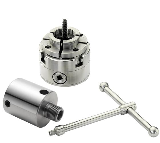 RP2000-M33 Compact Scroll chuck, 1