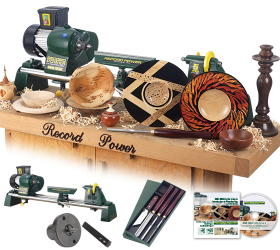 DML18SH-SK Woodturning Starter Package