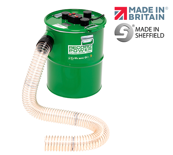 CGV386-6 Large Extractor with 2 Metres of Hose and Easy-Fit Cuff