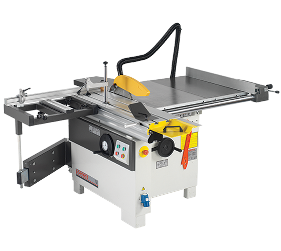 TS1/UK1 TS1 Table Saw, 900mm Rip, 1200mm Sliding Table with Squaring Frame (230v 1Phase)