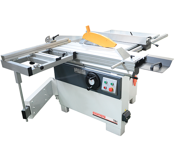 TS1/UK2 TS1 Table Saw, 900mm Rip, 1200mm Sliding Table with Squaring Frame (400v 3Phase)