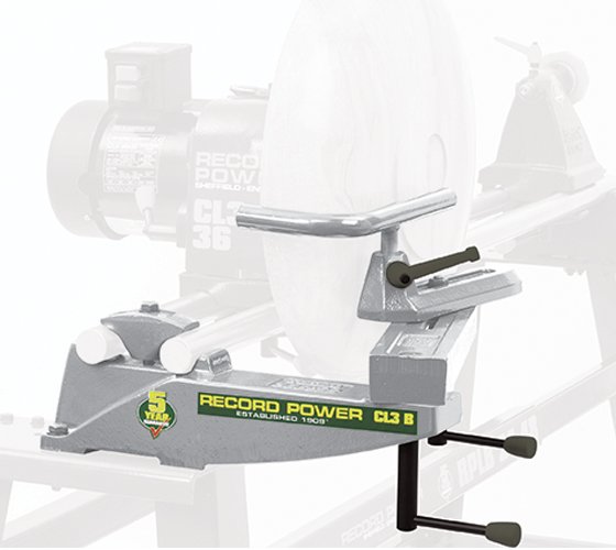 New CL3/B Bowl Rest for CL3 and CL4 Lathes