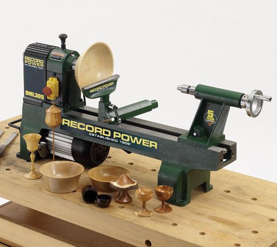 DML305-M33 Cast Iron 6 Speed Midi Lathe, M33x3.5mm thread, 2MT spindle