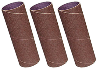 BBS1-3PK-50 3 Pack Sanding Sleeves, 60,80,120 Grit, 50mm x 140mm
