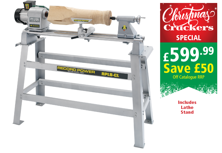 CL3-PK/A Professional 5 Speed Lathe and Stand Package