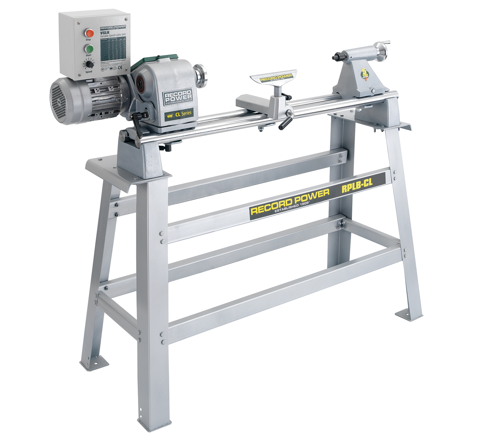 12203 Professional Electronic Variable Speed Lathe and Stand Package
