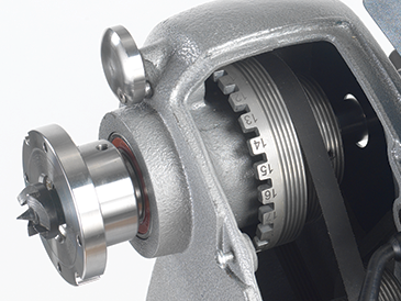 Heavy Duty Spindle Lock and Indexing