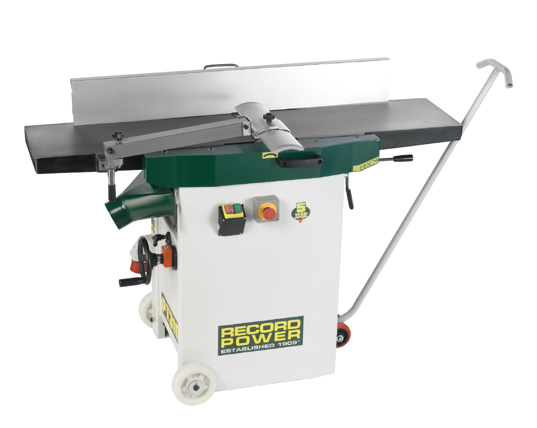 48502 Heavy Duty Planer Thicknesser 400v, With Digital Readout and Wheel Kit