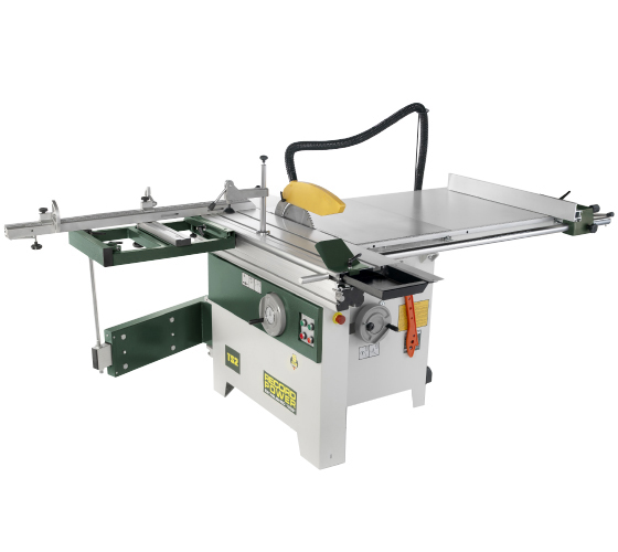 46001 315 mm Heavy-Duty Table Saw with Sliding Beam, Squaring Frame and Extendable Mitre Fence (Single Phase)