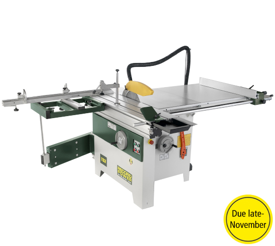 TS2/UK3 TS2 Table Saw, 900mm Rip, 1200mm Sliding Table with Squaring Frame (400v 3Phase)