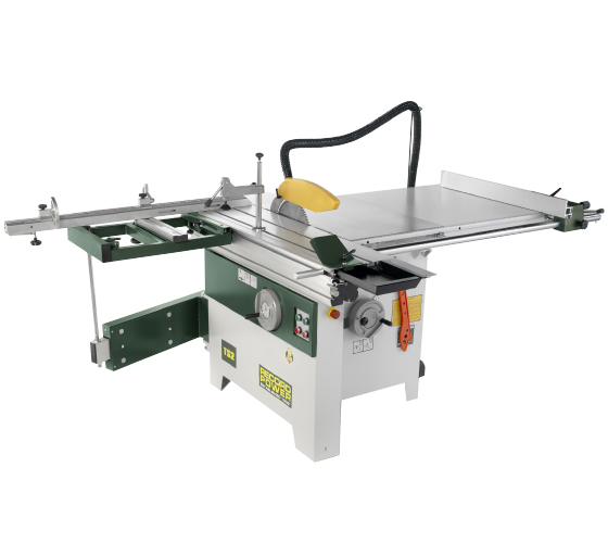TS2 315 mm Heavy-Duty Table Saw with Sliding Beam, Squaring Frame and Extendable Mitre Fence (Three-Phase)