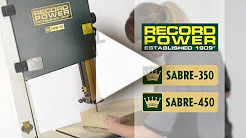 SABRE-350 and SABRE-450 Bandsaws from Record Power